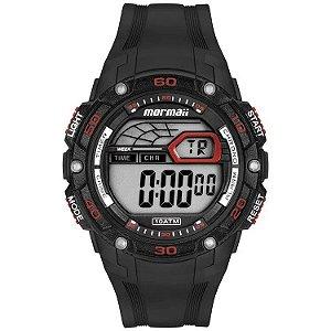 Relógio Digital Mormaii Wave Preto Mo9670af/8r