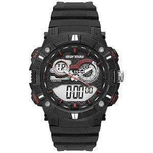 Relógio Anadigi Mormaii Action Preto Moad3781aa/8r