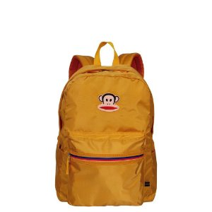 Mochila Grande Paul Frank Customs Amarelo