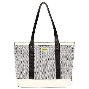 Bolsa Feminina Shopping Bag Mormaii Com Laser E Detalhes Neon