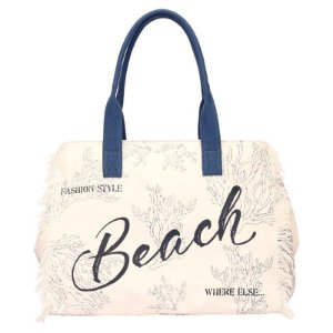 Bolsa Feminina Shoppinh Bag Canvas - WJ