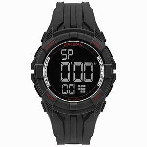 Relógio Digital Mormaii Wave Preto Mo18771ac/8r