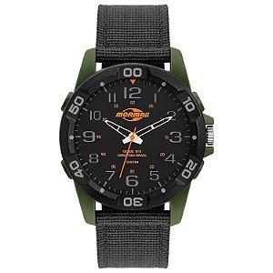 Relógio Analógico Mormaii Steel Basic Verde Mo2035kh/8v