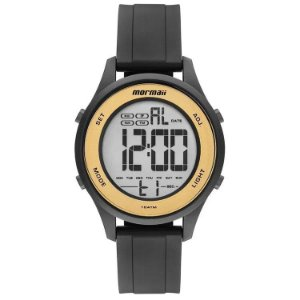 Relógio Digital Mormaii Wave Preto Mo6200/8d