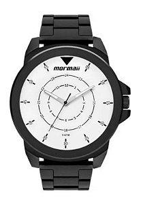 Relógio Analógico Mormaii Steel Basic Preto Mo2035jr/4p