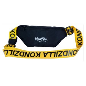 Pochete Kondzilla - Preta com alça Amarela  - 9962