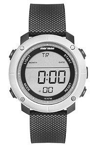 Relógio Digital Mormaii Wave Prata Mo0700ab/8c