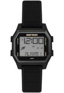 Relógio Digital Mormaii Luau Preto Mo3124aa/8p