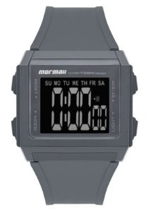 Relógio Wave Cinza Mormaii Mo9430ab/8c