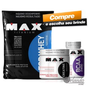 ecaefe3db Combo Top Whey 3W (1