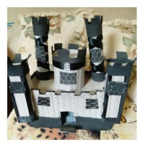 Castelo de EVA Decorativo Mesa Aniversario