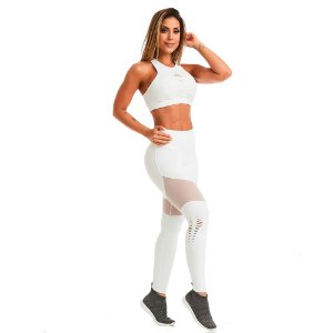 LEGGING CAJU NZ POWERFUL BRANCO TAM G