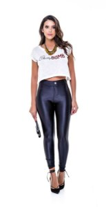 LEGGING PHYSICAL DISCO CIRRE PRETO TAM M
