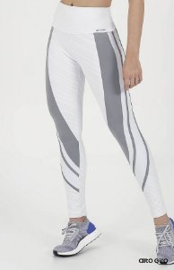 LEGGING AG BLACKOUT RECORTES LIGHT BRANCO TAM P