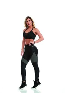 LEGGING CAJU ATLETIKA CONNECTION PRETO TAM P