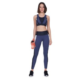 LEGGING AG BODY TEX BREEZE RECORTES E LASER GRAFITE ESTELAR TAM P