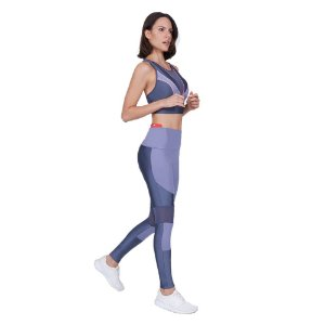 LEGGING AG ATLANTA RECORTES LIGHT GRAFITE ESTELAR TAM P