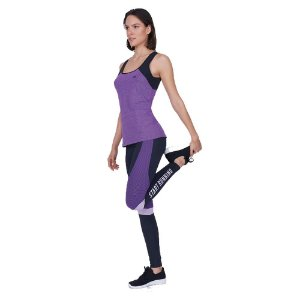 LEGGING AG ATLHETIC COM RECORTE START RUN PRETO TAM M