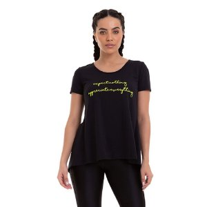 T-SHIRT EVERYTHING PRETO TAM M - CAJUBRASIL