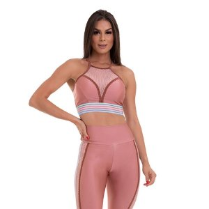 TOP CROPPED FUTURE ROSA TAM M - CAJUBRASIL