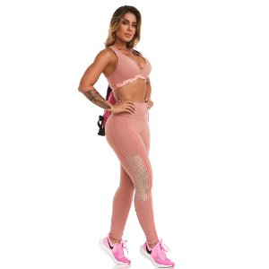 LEGGING NZ POP UP ROSA TAM P - CAJUBRASIL