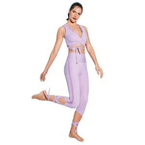 LEGGING UP CO2 BARRIGA ZERO LACO LILAS CUT TAM M - ALTOGIRO