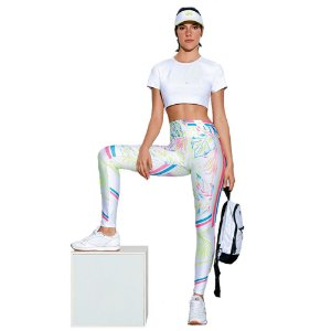LEGGING SUBLIME ESTAMPA LOCALIZADA TROPICAGE TAM M - ALTOGIRO