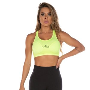 TOP SUPPLEX POWER AMARELO C/ BOJO  TAM P - PHYSICAL