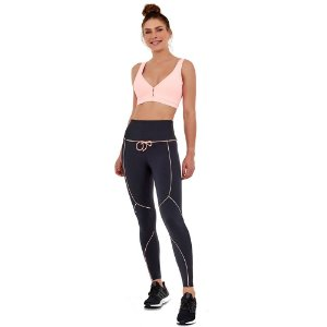 LEGGING BODYTEX BREEZE CADARCO PRETO - ALTOGIRO