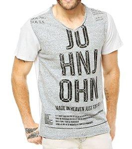 Camiseta Estonada ( Lavada ) - 1 UN Variadas - Roupas no Atacado