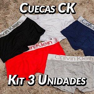 Kit 3 UN - Cueca Calvin Klein - Roupas no Atacado