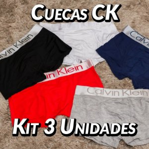 Kit 3 UN - Cueca Calvin Klein