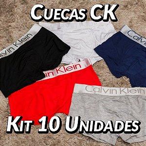 Kit 10 UN - Cueca Calvin Klein - Roupas no Atacado