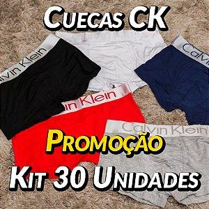 Kit 30 UN - Cueca Calvin Klein - Roupas no Atacado
