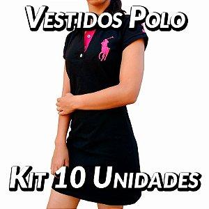 Kit 10 UN - Vestidos Polo Ralph Lauren - Roupas no Atacado