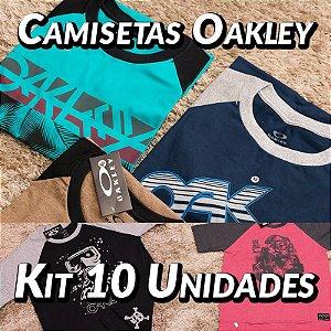 Kit 10 UN - Camiseta Oakley - Roupas no Atacado
