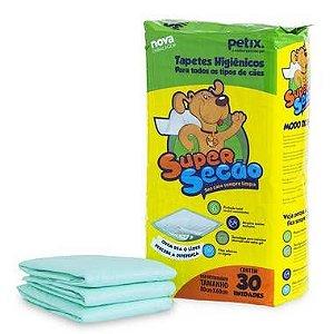 Tapete Higiênico Super Secão Para Cães - 30 Unidades