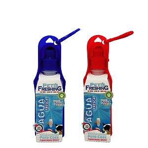 Bebedor Portátil 250 ml - Cor Azul