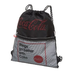 Bolsa Saco Nylon Adulto Juvenil Coca-Cola Academy