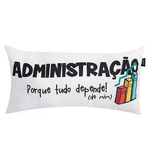 Almofadinha Decorativa Criativa Uatt Profissões Administração