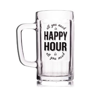 Caneca de Chopp Happy Hour 500ml