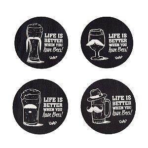 Porta Copos Have Beer