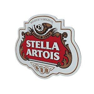 Placa Decorativa MDF Alto Relevo Laqueada Cerveja Stella Artois