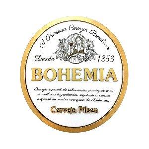 Placa Decorativa Alto Relevo Laqueada Cerveja Bohemia