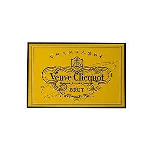 Quadro Decorativo Rótulo Veuve Clicquot