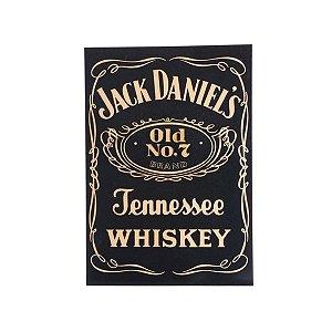 Quadro Decorativo Alto Relevo Laca Jack Daniels