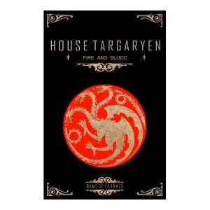 Quadro Decorativo MDF Alto Relevo Game of Thrones Targaryen