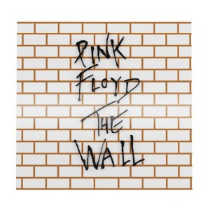 Placa Decorativa MDF Alto Relevo Laqueada Pink Floyd The Wall