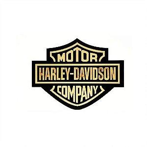 Placa Decorativa Alto Relevo Laqueada Harley Davidson