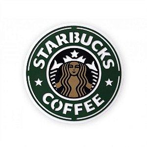 Placa Decorativa Alto Relevo Laqueada Starbucks